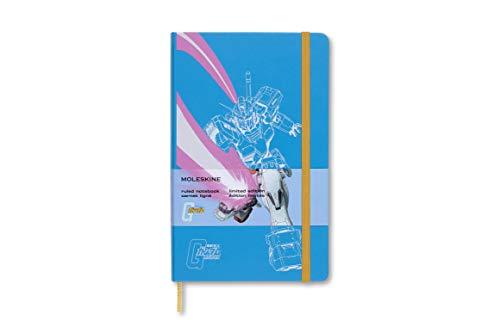 Moleskine 8053853602046 - Taccuino Gundam Large/A5, a righe, copertina rigida, colore: Blu