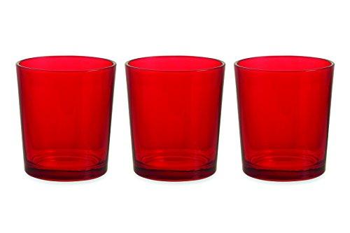 galileo-casa-la-cucina-set-di-3-bicchieri-da-acqua-vetro-rosso-scuro-3-pezzi