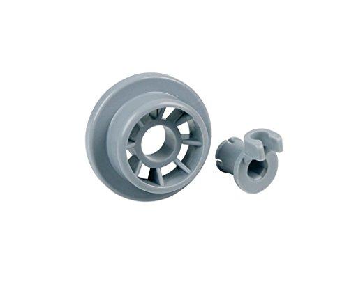 VIOKS Korbrolle Ø 36 mm Laufrolle Rolle Geschirrkorb Geschirrspüler Spülmaschine für Bosch Siemens Gorenje Küppersbusch