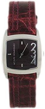 Reloj Adolfo Dominguez Señora 39003 Piel Burdeos