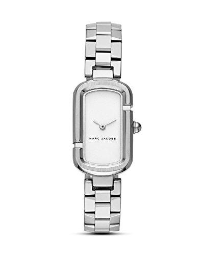 Marc Jacobs Damen-Uhren Analog Quarz One Size Silber/schwarz Edelstahl 32000691