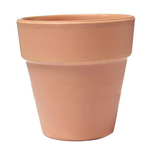 HEMFV Große Terrakotta-Topf Tontöpfe Ton Keramik Pflanzgefäß Kaktus Blumentöpfe Sukkulenten Topf Drainage Handwerk Home Garden Decor (4 Set) (Size : 20cm) -