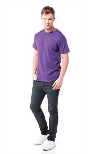 Gildan Heavy Cotton Adult Tshirt–47Colours/S–3X L Bordeaux