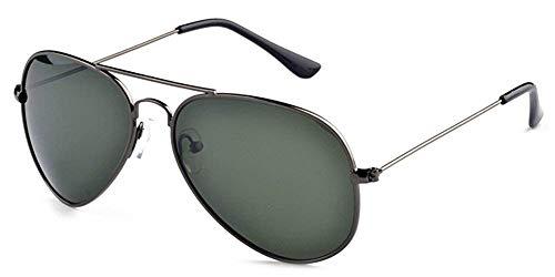 Tclothing Herren Klassische UV400 Schutz Metallrahmen polarisierte Flieger-Sonnenbrille