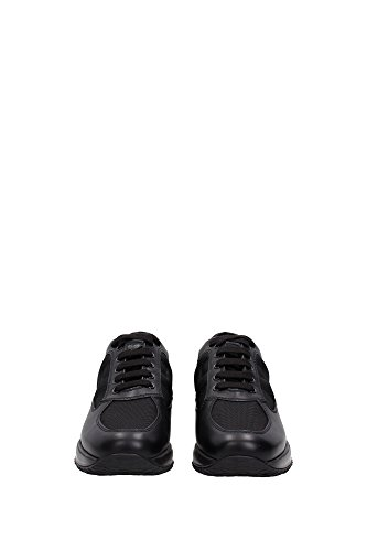 HXM00N00010E19B999 Hogan Sneakers Homme Cuir Noir Noir