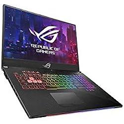 "Asus ROG SCAR2-G715GV-EV083T PC Portable Gamer 17"" (Intel Core i7-8750H, RAM 16Go DDR4, HDD1 To + 8Go SSHD Firecuda + 256Go PCIE, Nvidia RTX 2060 6Go Windows 10) Clavier AZERTY Français"
