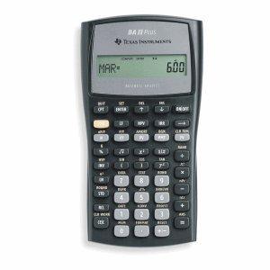 Texas Instruments Taschenrechner BA II Plus wissenschaftlich