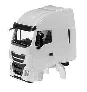 Herpa 085045 Iveco Stralis - Camión para Manualidades, Color Blanco
