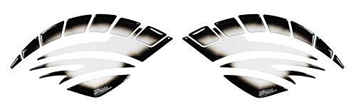 Seitentank-Pad 3D 810009 Transparent Tank-Schutz für Motorrad-Tank - Tank Honda Protektor