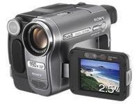 Sony Handycam DCR-TRV270E - Caméscope - 540 kilopixel - zoom optique : 20 x - Digital8