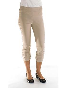 Stehmann Muñeco de pie Maria de 530, stretchige Pantalones capri, lateral gerafft