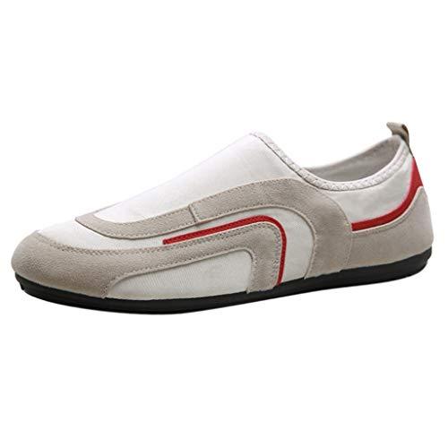 xmansky Herren Damen Laufschuhe Sneaker Straßenlaufschuhe Sportschuhe Turnschuhe Outdoor Leichtgewichts,Sommer Herren Schuhe Outdoor Freizeitschuhe Vintage Mode Schuhe Lazy Schuhe Stiletto Heel Ankle Tie
