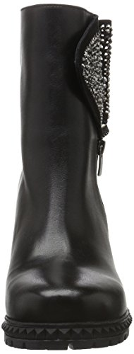 Fersengold - Manchester, Stivali bassi con imbottitura leggera Donna Nero (Nero (nero))