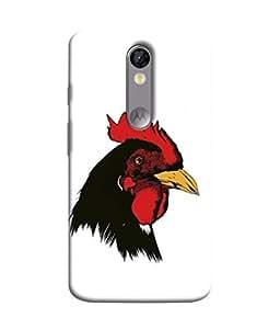 PrintVisa Designer Back Case Cover for Motorola Moto X Force :: Motorola Moto X Force Dual SIM (Texture Illustration Theme Brown Red Backcase Pouch)