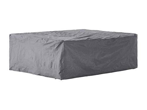 Perel Garden ocls Etui de Protection pour Salon de M Noir Set, 240 x 180 x 75 cm