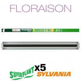 Kit Blüte T5HO 10 x 54 W Grolux Plug and Play – superplant & - T5ho-lampen