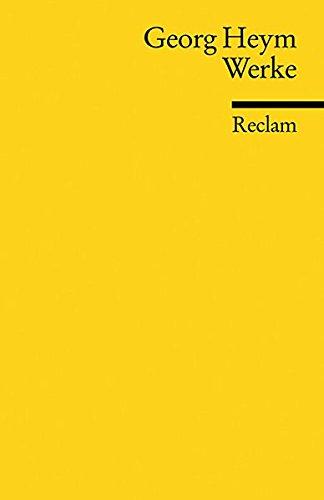 Werke (Reclams Universal-Bibliothek)
