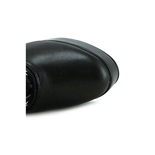 Pleaser Eu-Ele2020/B/Pu, bottes femme Noir - Noir verni