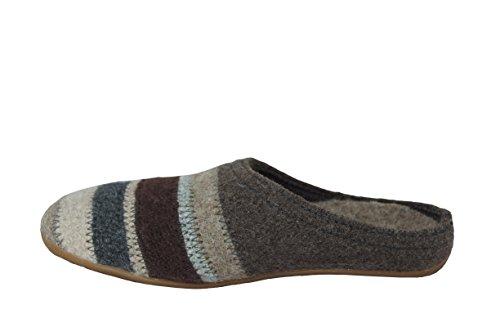 Haflinger HaflingerPrisma - Pantofole Donna (graphit)