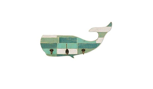 Signes Grimalt Attaccapanni da Parete con 3 Ganci Balena 53 cm