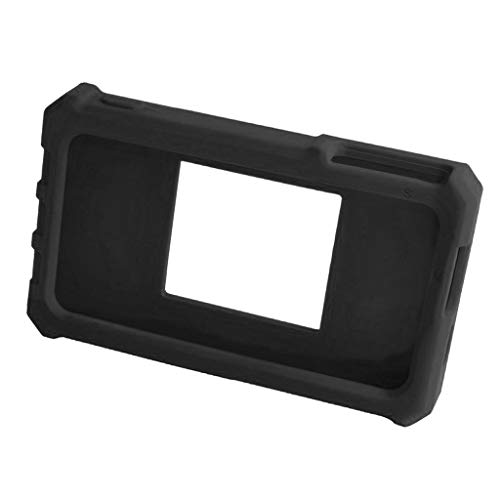 perfk Silikon Schutzhülle Mit Ringständer Schwarz Zubehör Für DS212 Mini Digital Oszilloskop - Schwarz