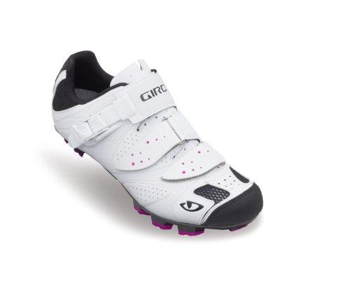 Giro lotes de MTB para mujer zapatos blanco 2014 Blanco blanco Talla:41