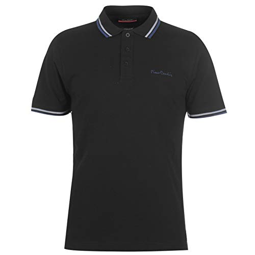 Pierre Cardin Hommes Tipped Polo T-shirt Manche Cou
