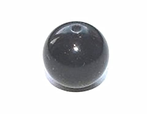 Markylis - Genuine Gemstone Jewellery Craft Beads - Black Onyx - 6mm