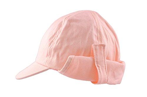Sun Hat Girls Toddler Legionnaire Cap Summer Cotton Beach Hat. Pink 3 Months - 8 Years (2-4 Years)