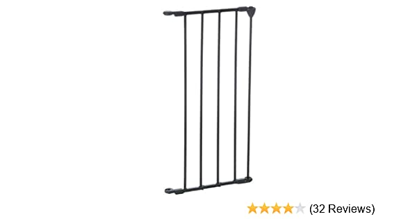 Babydan Configure Gate 60cm Extension Black Amazon Co Uk Baby