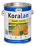 Koralan Holzöl Spezial 2,5l (Tabakbraun)