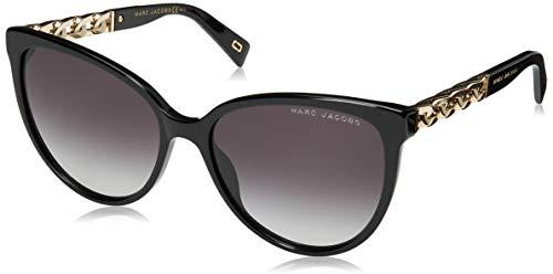 Marc Jacobs Sonnenbrillen (MARC-333-S 8079O) glänzend schwarz - gold - grau verlaufend