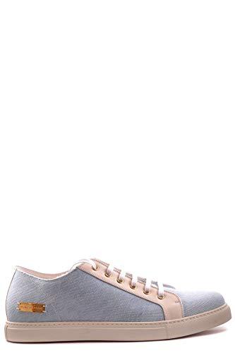 Marc Jacobs Herren Mcbi19765 Hellblau Stoff Sneakers