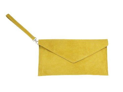 scarlet bijoux, Poschette giorno donna Giallo (giallo)
