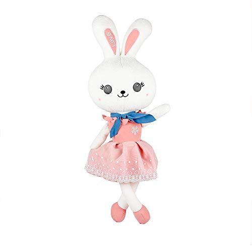 Miss Zhang's shop Peluches Carino Principessa Coniglio Super Morbido Bambola Addormentata 75Cm Rosa Peluche Giocattoli