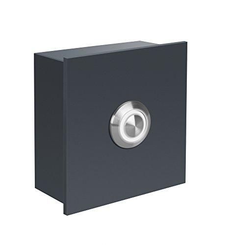 Frabox Design LED Klingelelement NAMUR Anthrazitgrau