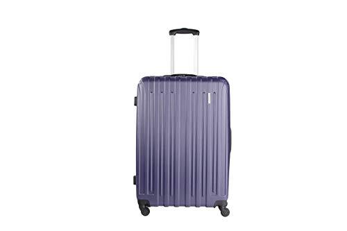 NOWI PARIS L ABS Hartschale Trolley Reisekoffer Gepäck TSA Schloss 4 Rollen 90l Volumen