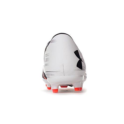 Under Armour Ua Spotlight Dl Fg, Scarpe da Calcio Uomo Bianco (White)