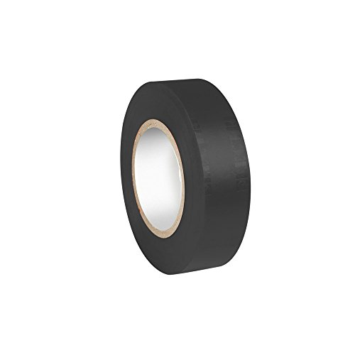 ah Accessories 580813BLK Isolierband (0,13 x 19 mm x 20 m) schwarz