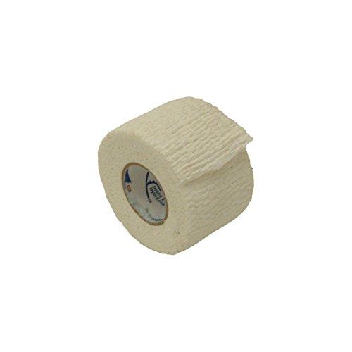 JayBird & Mais 4600 Jaylastic elastisches, leichtgewichtiges Athletik-Elastikband, 4600-1550, weiß, 1-1/2 in. x 5 yds. -