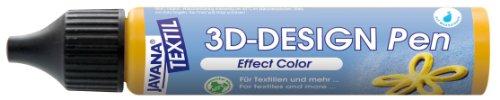 Design 3D stylo javana tissu