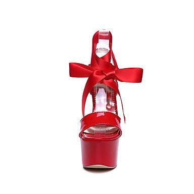 LFNLYX Talons pour femmes Printemps Été Automne Slingback Leatherette Bureau et carrière Robe de soirée et soirée Stiletto Heel Noir Rouge Blanc White