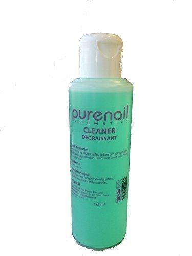 Nail Cleaner Dégraissant pour Gel UV et Faux Ongles, 100 ml + 25% Gratuit soit 125ml