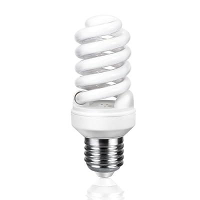E27 Energiesparlampe Von Parlat Warm-wei 14 Watt Ersetzt 60w Glhlampe 740 Lumen 270 230 Volt Ac 1 Stck Packung von LEDs Com GmbH
