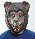 Maske: Bär - Gummimaske