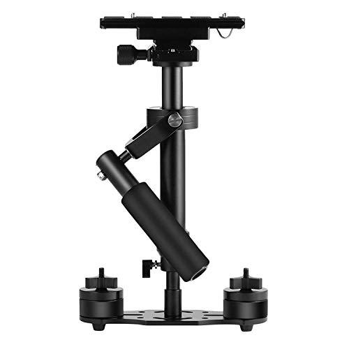 Kamera Stabilisator,ICOCO 40cm Handstabilisator mit 1/4 Zoll Schraube Schnelle Schuhplatte für Canon Nikon Sony und Andere DSLR Kamera Video DV (0.5-4.4lbs