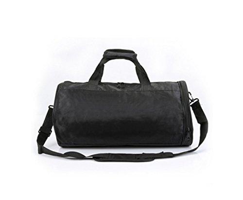 LAIDAYE Bewegung Messenger Mobile Bag Sporttasche Fitnesstasche Große Kapazität Handtasche Yellow