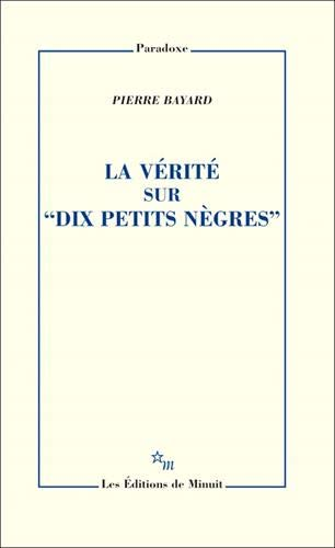 """La vérité sur \""""Dix petits nègres\"""""""