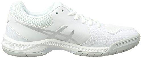 Scarpe Da Fuori bianco Corsa Argento Asics 5 Per Bianca dedicano Strada L'allenamento Gel q4FFnpUH
