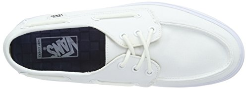 Vans Chauffeur SF, Baskets Basses Homme Blanc (True White/Stripes)
